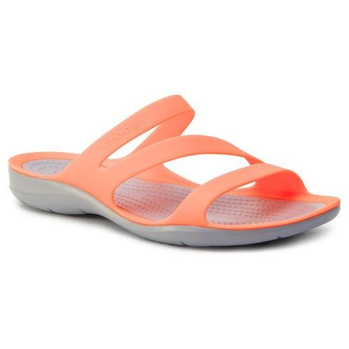 Klapki CROCS - Swiftwater Sandal W 203998 Bright Coral/Light Grey, w 5 rozmiarach