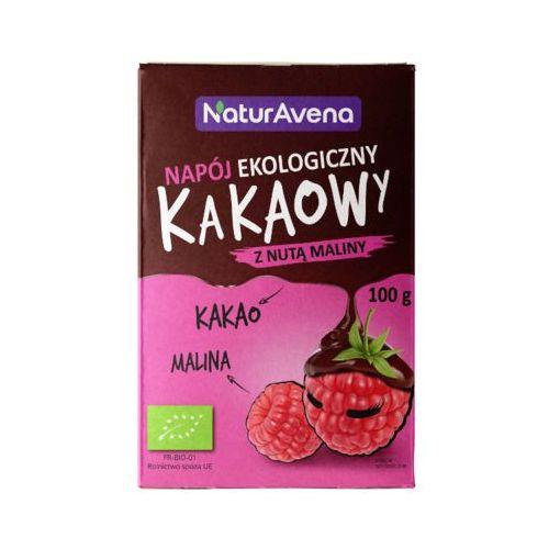 100g napój kakaowy z nutą maliny bio marki Naturavena
