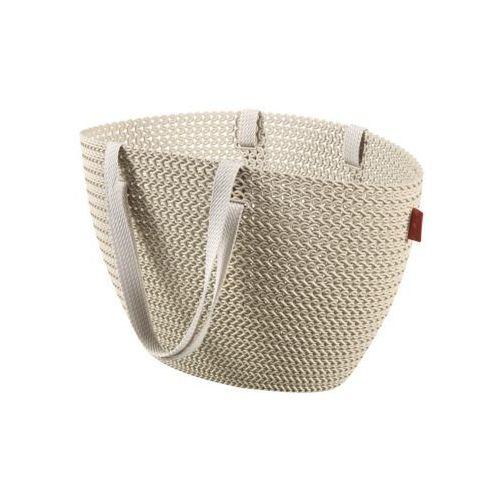 Curver Koszyk emily knit - kremowy