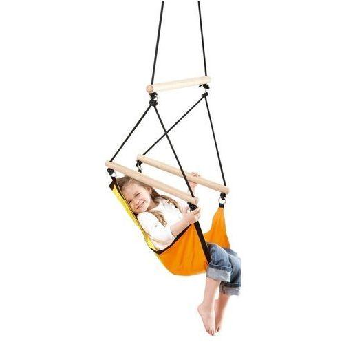 Fotel wiszący huśtawka Kids Swinger Yellow Amazonas - Yellow - produkt dostępny w Sklep Sportowy Presto