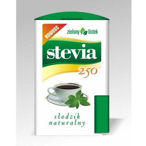 Stevia stewia słodzik tabletki pastylki 250szt - zielony listek marki Zielony listek domos