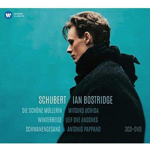 Warner music poland Schubert - winterreise, die schone mullerin, schwanengesang (cd+dvd) (płyta cd) (0825646204182)