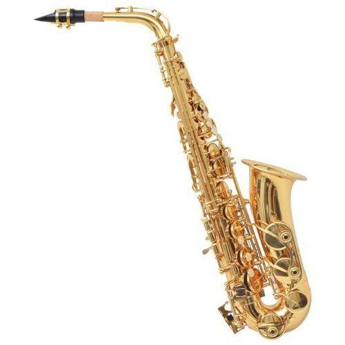 vidaXL Alto saksofon w kolorach mosiądz i złoto Eb