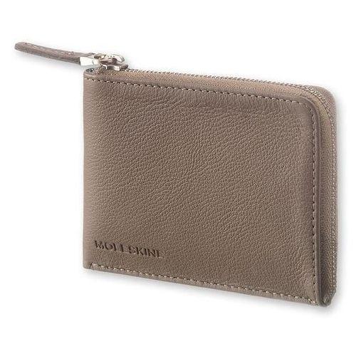 Portfel smart wallet lineage taupe marki Moleskine