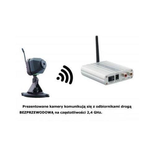 Y.c.j. electronic ltd. Mikro-kamera bezprzewodowa + 4-kanałowy odbiornik do 300m.