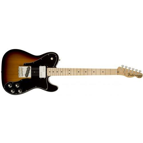 classic series ′72 telecaster custom, maple fingerboard, 3-color sunburst gitara elektryczna marki Fender