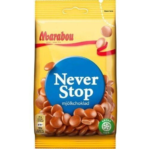 Marabou - never stop mjolkchoklad - czekoladowe draże - 100g - ze szwecji (7310510001767)