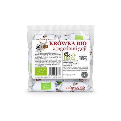 Ekoflorka (krówki) Krówki z jagodami goji bio 150 g - ekoflorka (5904730791038)