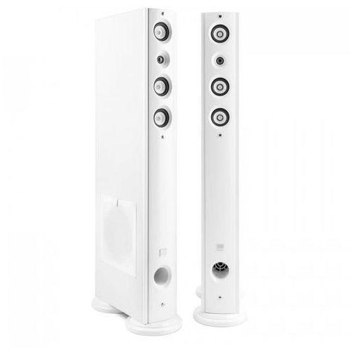 D92F 4-drożne głośniki stojące Hi-Fi, para 120W białe