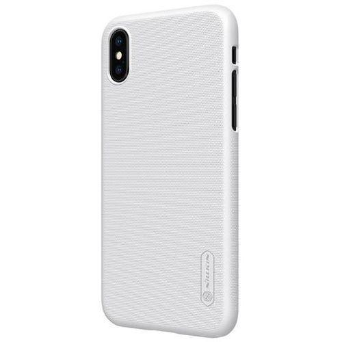 Etui frosted shield apple iphone x - white - white marki Nillkin