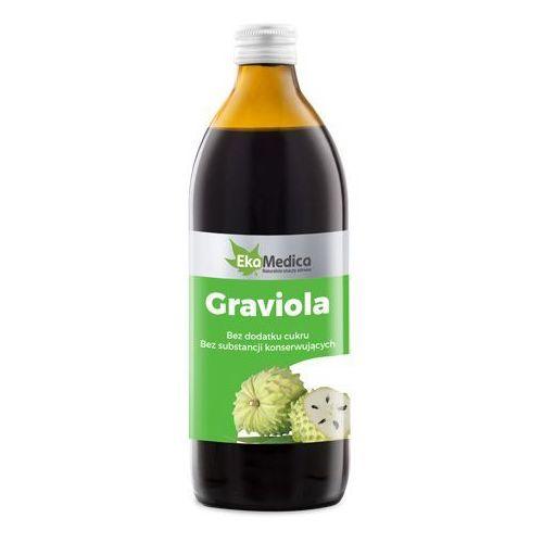 Graviola sok 100% z owoców (1 l) EkaMedica (5906874160138)