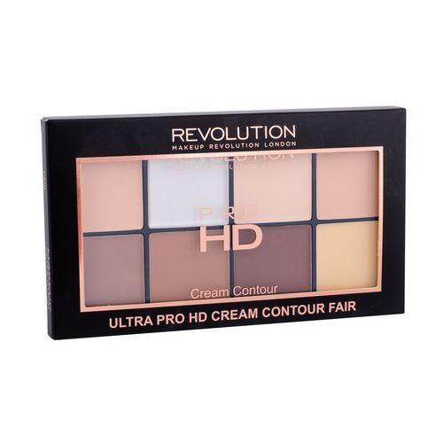 Makeup Revolution Ultra Pro HD Cream Contour Fair Zestaw pudrów kremowych 20g, SONIA82146