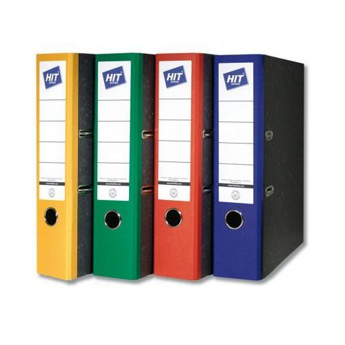 Kolorowe segregatory dźwigniowe - szerokość 5 cm marki Hit office