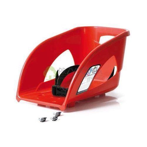 Oparcie SEAT1 siodełko do sanek BULLET czerwone
