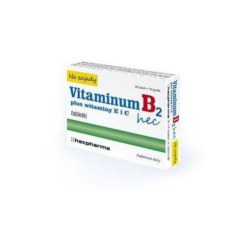 VITAMINUM B2 HEC Na Zajady x 30 tabletek - produkt z kategorii- Pozostałe zdrowie