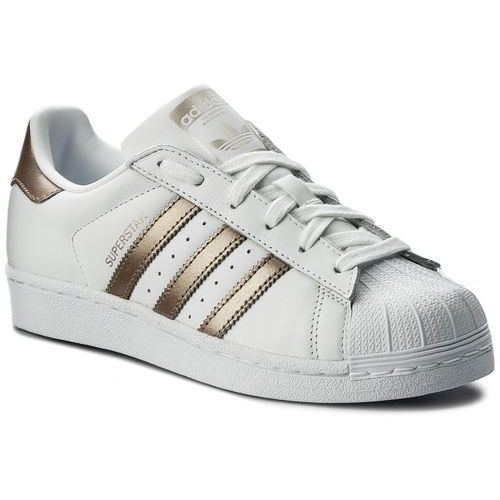 Buty adidas - Superstar W CG5463 Ftwwht/Cybemt/Ftwwht, kolor biały