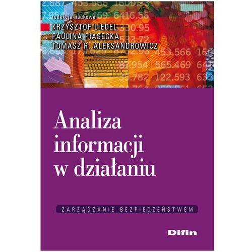 Analiza informacji w działaniu (148 str.)