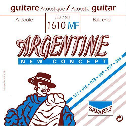 Savarez (668717) struny do gitary akustycznej Argentine - Komplet