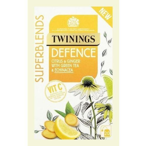 R. twining and company limited, Twinings superblends defence citrus & ginger with green tea & echinacea 20 tea bags