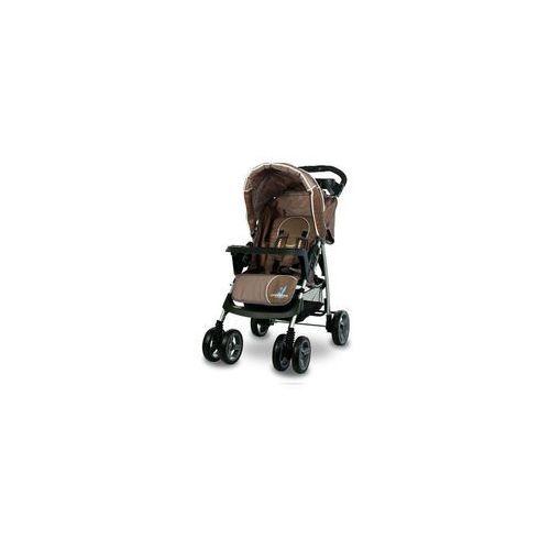 Wózek spacerowy monaco brązowy + darmowy transport! marki Caretero