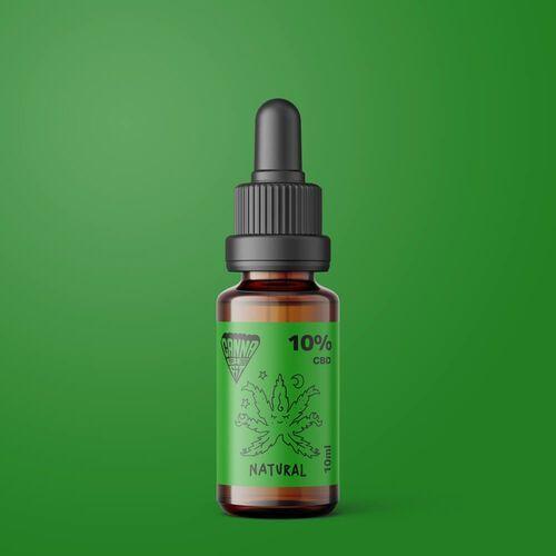 Olej CBD CannaBeFit 10% 1000mg 10ml Naturalny