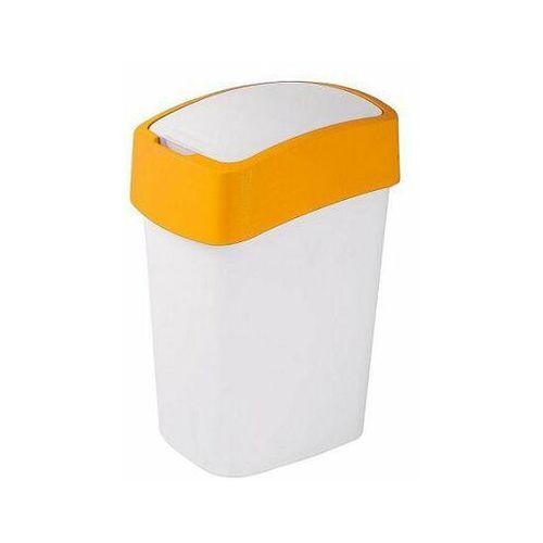 Kosz na śmieci Sorter na śmieci Flip Bin 50L yellow.wh - produkt dostępny w twojekosze.pl
