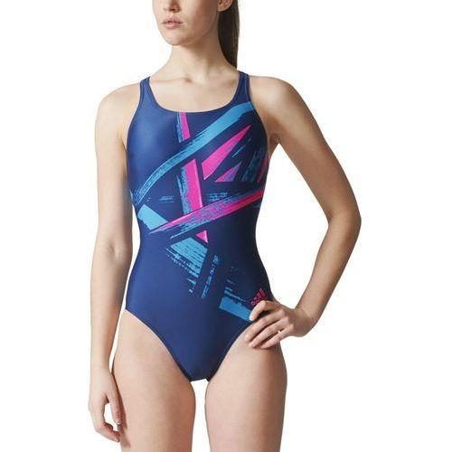 Strój do pływania adidas Graphic Swimsuit BS0300 (4058031147146)