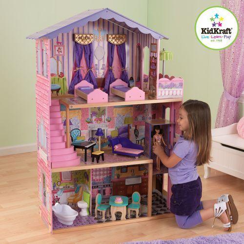 Domek dla lalek Barbie Moja Rezydencja Marzeń KidKraft My Dream Mansion 65082, Kidkraft z wonder-toy.com