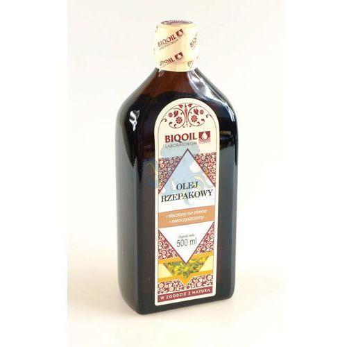 Olej rzepakowy 500ml - 500ml - produkt dostępny w Oct-Opus.net Zdrowa ekologiczna żywność