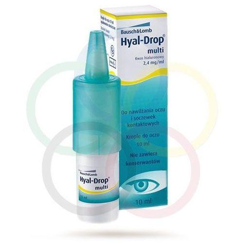 Bausch & lomb Hyal drop multi - krople do oczu i soczewek 10 ml