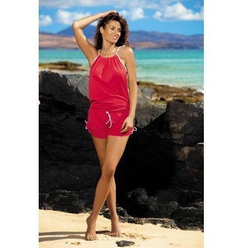 Tunika Leila Anaranjado M-312 czerwona (291) (5901425360258)