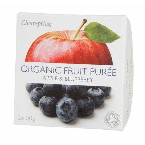 Deser jabłko-jagoda bio 200 g - marki Clearspring