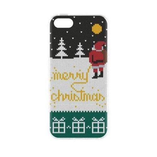 Flavr Etui case ugly xmas sweater yellow snow do apple iphone 5/5s/se wielokolorowy (27418)
