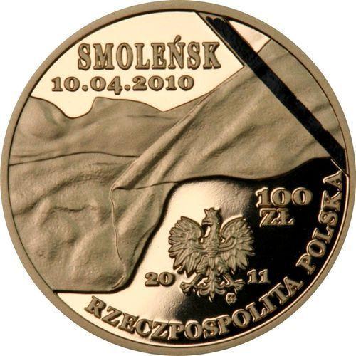 100 zł - Smoleńsk - pamięci ofiar 10.04.2010 r. - 2011