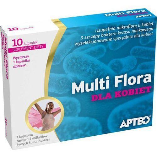 Apteo multi flora dla kobiet x 10 kapsułek - data ważności 31-10-2019 marki Synoptis pharma