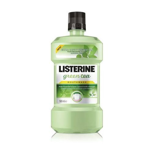 Johnson&johnson Listerine green tea płyn do plukania jamy ustnej 500ml