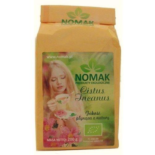 herbata z czystka bio (cistus incanus l.) - 200 g NOMAK