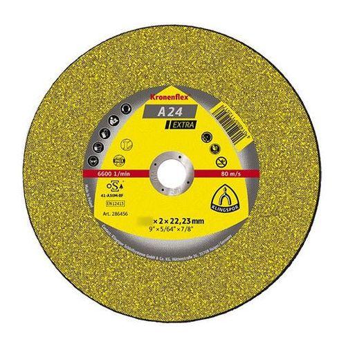 Klingspor Tarcza do cięcia kronenflex a 24 extra 125 x 2,5 x 22 mm płaska