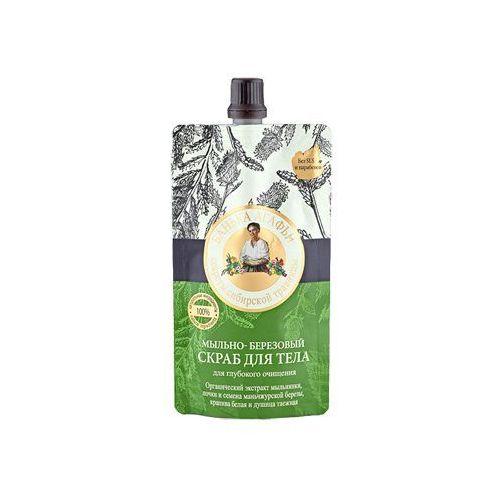 Babuszka Agafia Mydlano-brzozowy głęboko oczyszczający scrub do ciała (Łaźnia Agafii) 100ml