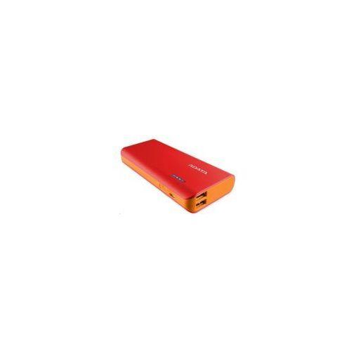 Adata Mobilna bateria power bank pt100 10000mah red