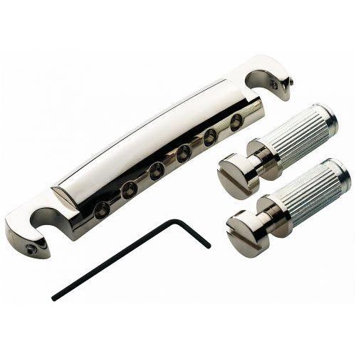 TonePros T1ZSA-N - Tailpiece, części mostka do gitary, niklowane