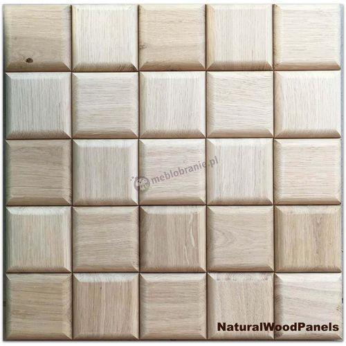 Panele drewniane CHOCO LUXURY series – dąb natur - Natural Wood Panels - produkt z kategorii- panele ścienne