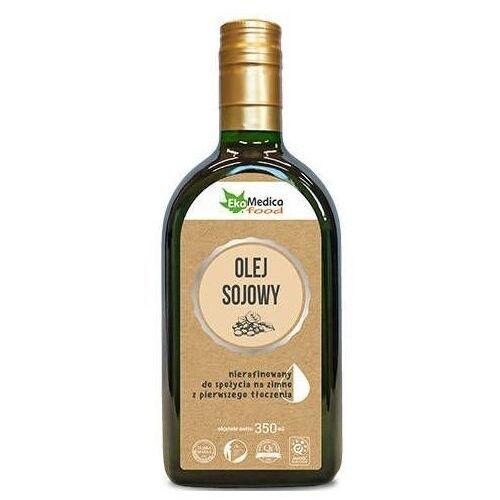 Olej sojowy z pierwszego tłoczenia nierafinowany 350ml marki Ekamedica