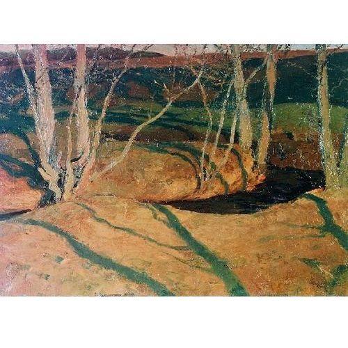 obraz Pejzaż jesienny o zachodzie słońca - Ferdynand Ruszczyc (obraz)