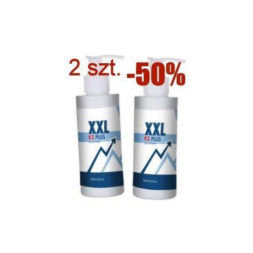 2 sztuki żel XXL K2 Plus - powiększa penisa - oryginał jest tylko jeden, 200m