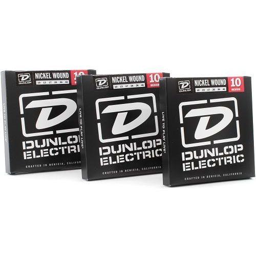 Cleartone electric nps medium 3-pack struny do gitary elektrycznej 10 ″ 46