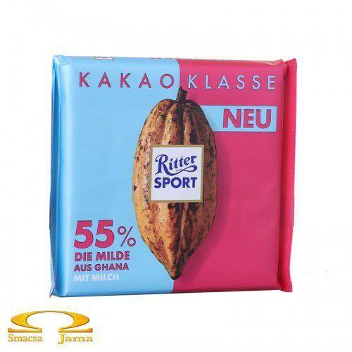 Czekolada Ritter Sport 55% kakao z Ghany 100g, 0AD6-2936E