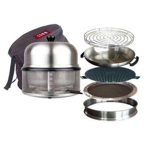 Grill turystyczny COBB BBQ System [mega zestaw] - oferta [f5696c2e75252581]