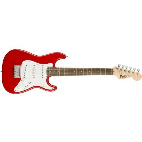 squier mini strat laurel fingerboard gitara elektryczna marki Fender