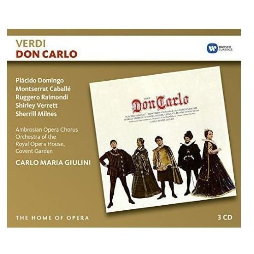 Warner music Verdi: don carlo - carlo maria giulini (płyta cd)